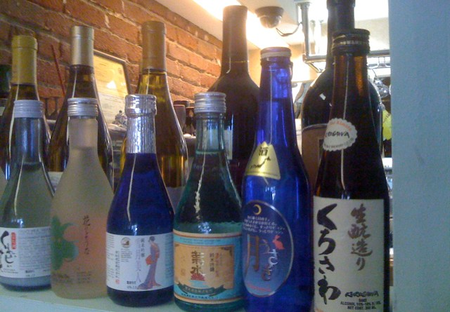 Drinks at California Roll and Sushi