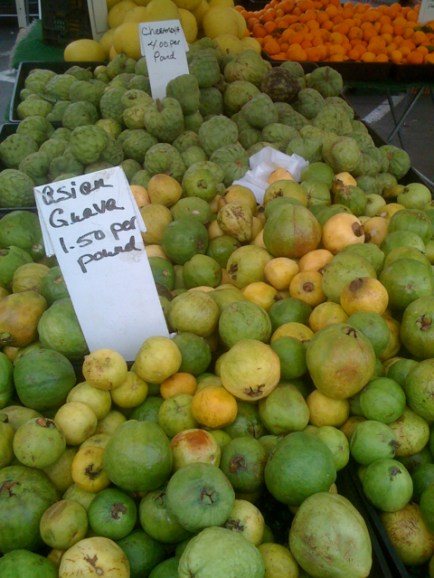 Asian Guavas and Cherimoyas