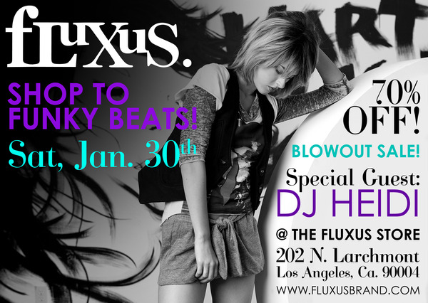 fLuXuS Blowout Sale in Larchmont