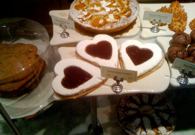 Linzer Heart Cookies at PQ