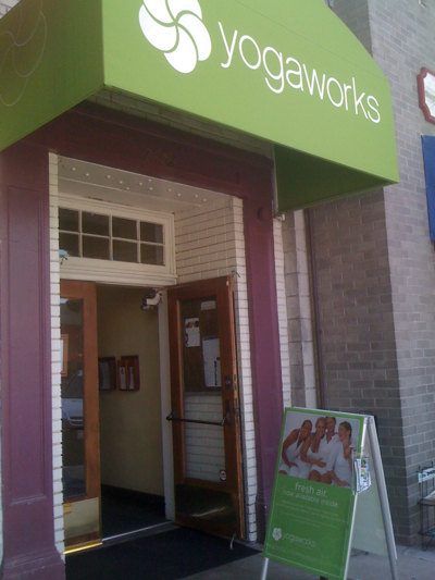Yogaworks in Larchmont Village