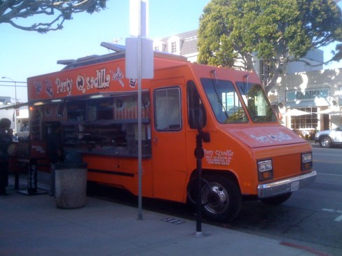 Party Q'sadilla - Orange Food Truck