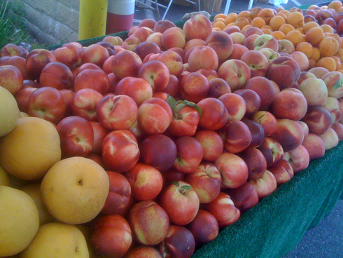 Nectarines, Peaches, Apricots