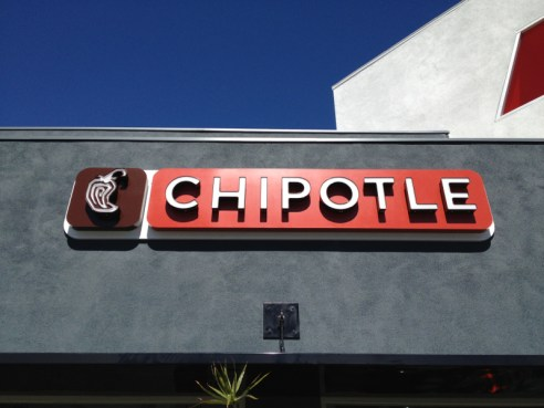 Chipotle on Beverly in Larchmont Village LA