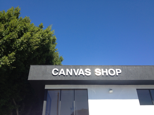 Canvas Shop on Larchmont LA