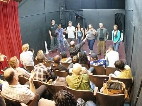 Improv Comedy Classes, Stage in LA