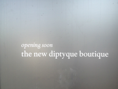 New Diptyque Fragrances Boutique: Larchmont Village