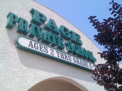 Page Private School in Larchmont Village