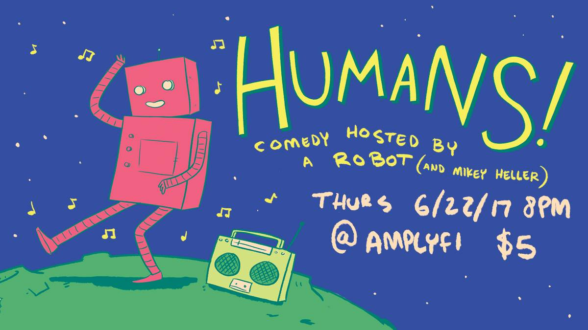 Comedy Show Hosted by Robot