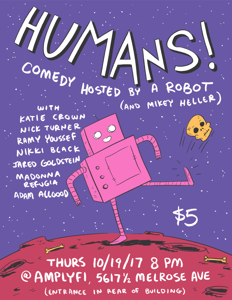 Comedy Hosted by a Robot