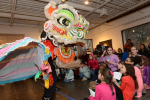 Chinese New Year Lion Dance and Art Making Workshops @ Pelham Art Center        