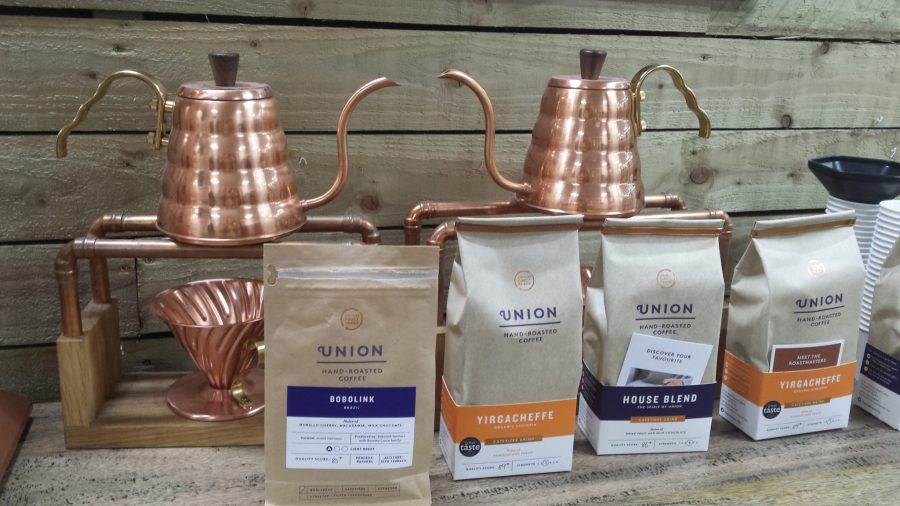 AN AFTERNOON COFFEE TASTING BY THE LARDER CENTRAL PARK & UNION HAND-ROASTED COFFEE – 18TH FEB 2018