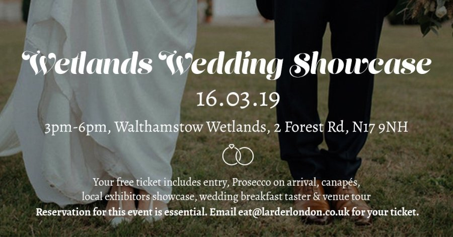 Save the date: Wetlands Wedding Showcase