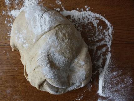 The bread dough