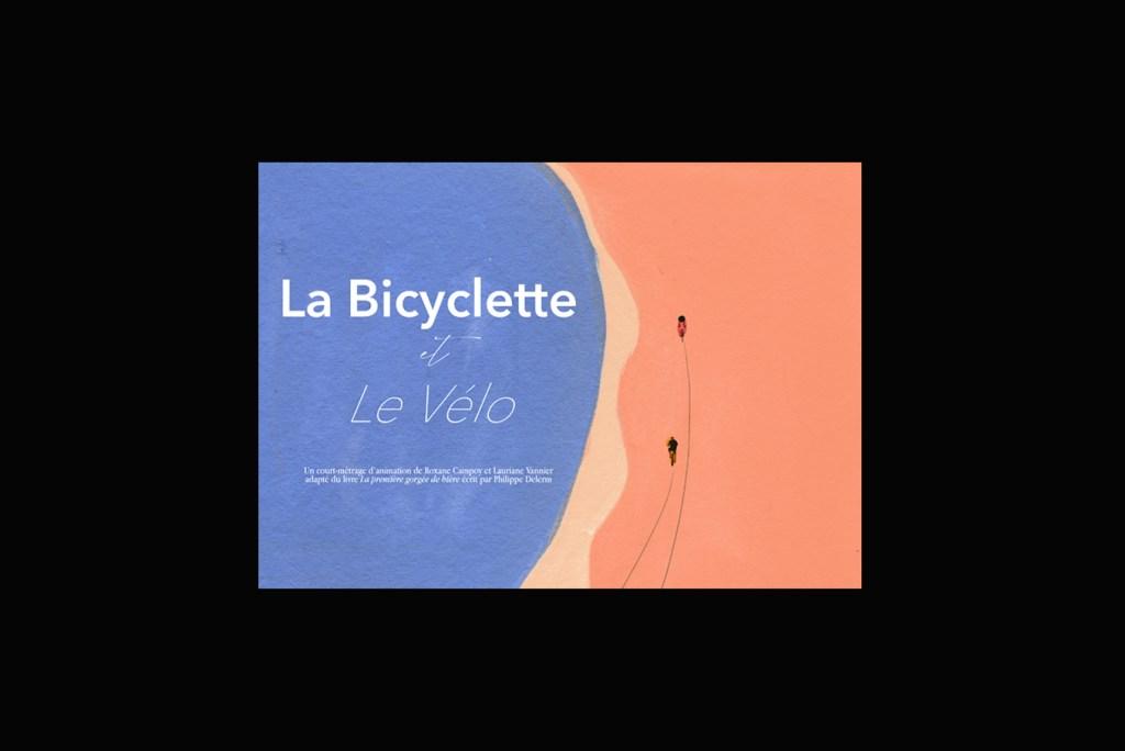 Bicyclette et vélo