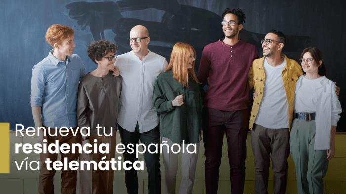 Renueva tu residencia en Española durante el confinamiento