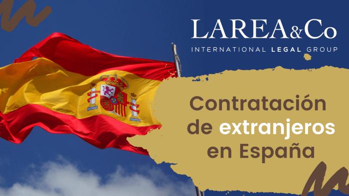 Contratación de extranjeros en España