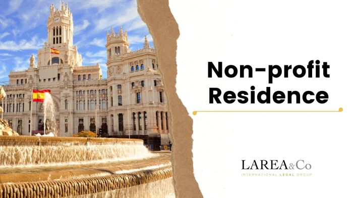 NON-PROFIT RESIDENCE IN SPAIN