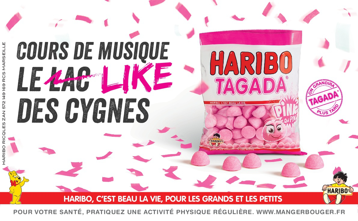 Haribo Tagada Loriginale Pink Purple Haribo