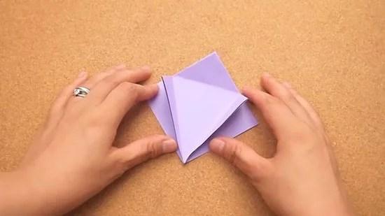 Как сделать журавлика оригами из бумаги своими руками origami zhuravlik iz bumagi 9