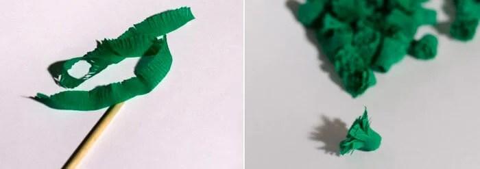 Aaltopahvista tehdyt joulun käsityöt: talon koristelu omin käsin podelki iz gofrirovannoj bumagi na novyj god 3