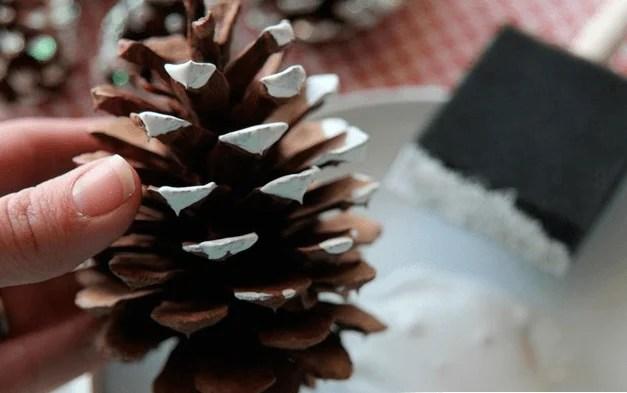 Corona di Mishura per il nuovo anno con le loro mani VENOK IZ Mishury 2