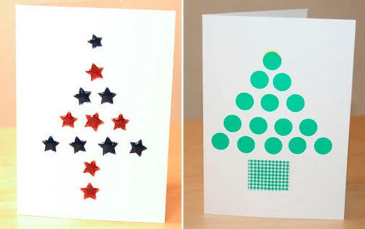 Жаңа жылға арналған ашық хаттар, өз қолыңызбен: балабақшадағы қарапайым және ерекше қолөнер және 3 4 мектеп