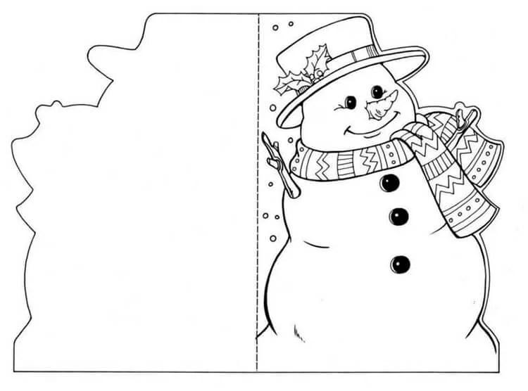 کارت پستال برای سال نو با دستان خود: صنایع دستی ساده و اصلی در مهد کودک و مدرسه Novogodnyaya otkrytka Svoimi Rukami 103
