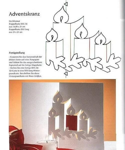 کارت پستال سال نو با دستان خود: صنایع دستی ساده و اصلی در مهد کودک و مدرسه Novogodnyaya otkrytka Svoimi Rukami 106