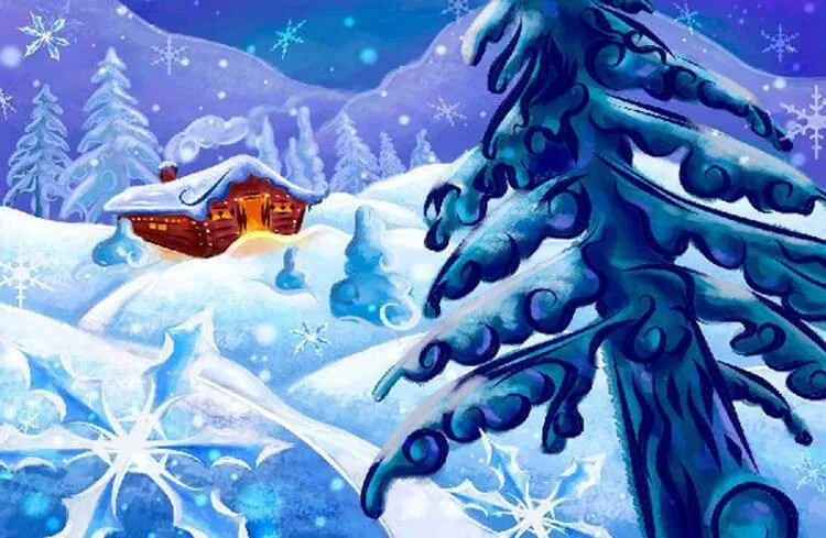 Рисунки на новогоднюю тематику: что можно нарисовать на Новый год risunki na novogodnyuyu temu 108