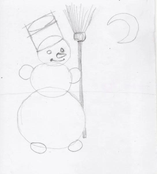 크리스마스 주제용 도면 : 새해를 위해 무엇을 그릴 수 있습니까? Risunki novodnoduyu temu 115