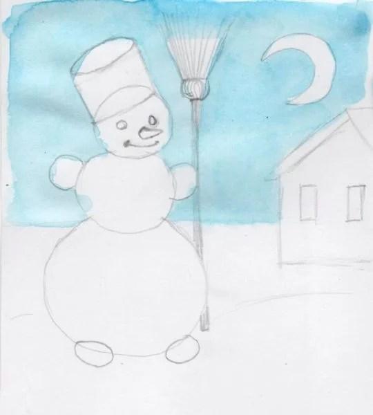 Рисунки на новогоднюю тематику: что можно нарисовать на Новый год risunki na novogodnyuyu temu 117