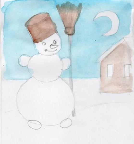 크리스마스 주제용 도면 : 새해에 그려 질 수있는 것은 무엇인가 risunki novododnyuyu temu 118