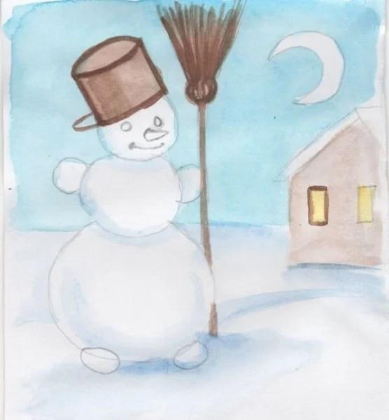 크리스마스 주제용 도면 : 새해에 그려진 것은 risunki novodnyuyu temu 120