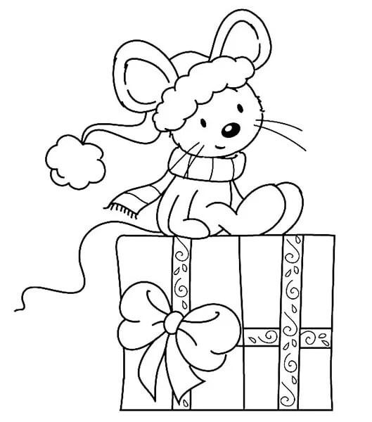 크리스마스 주제용 도면 : 새해를 위해 무엇을 그릴 수 있습니까? Risunki NovoDnyuyu Temu 32