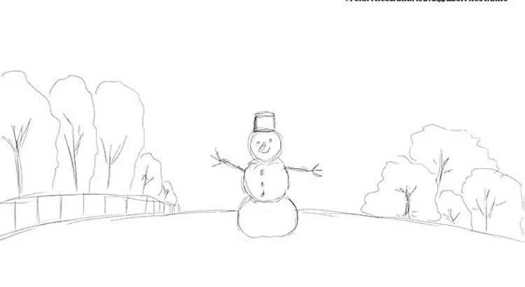 Dessins pour sujets de Noël: Que peut-on tirer sur la nouvelle année Risunki Na Novogodnyuyu Temu 37