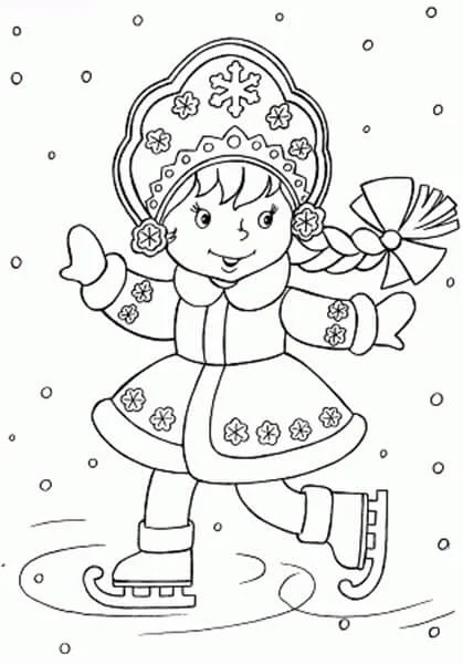 Dessins pour sujets de Noël: Que peut-on tirer sur la nouvelle année Risunki Na Novogodnyuyu Temu 53