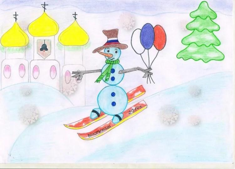 크리스마스 주제를위한 도면 : 새해를 위해 무엇을 그릴 수 있습니까? Risunki Novodnyuyu Temu 59