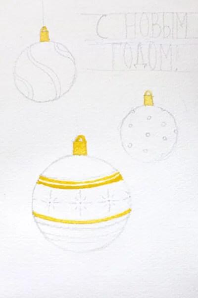 크리스마스 주제용 도면 : 새해에 그려지는 것은 risunki novodnodnyuyu temu 96