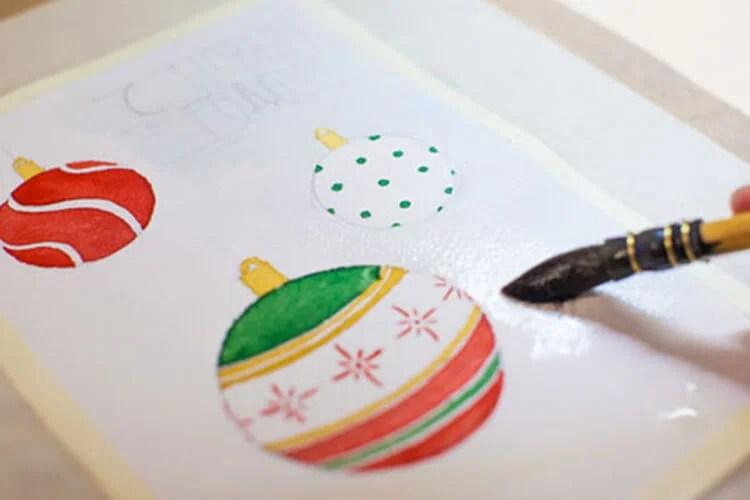 크리스마스 주제용 도면 : 새해를 위해 무엇을 그릴 수 있습니다 Risunki Novodnyuyu Temu 98