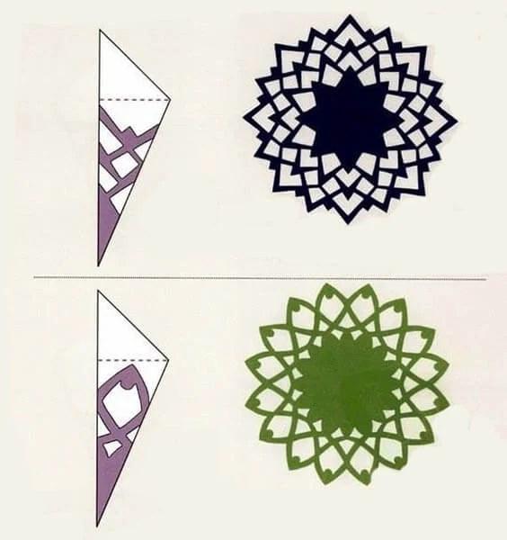 Жаңа жылға арналған әдемі түпнұсқа снегинейстер: өз қолдарыңызды, шаблондарыңыз Snezhinki IZ bumagi svoimi rukami 95