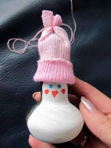 Joulukuusi lelut omalla kädellään: mitä voidaan tehdä uudenvuoden Elochnaya Igrushka Svoimi Rukami 10