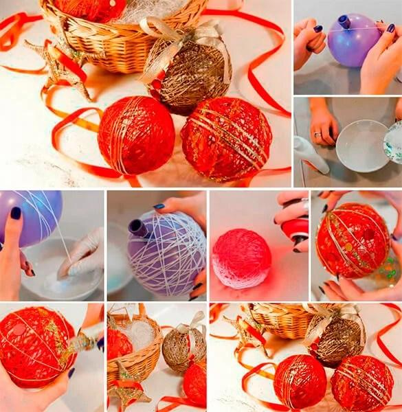 Joulukuusi lelut joulukuusi omalla kädellään: mitä voidaan tehdä uudenvuoden Elochnaya Igrushka Svoimi Rukami 2