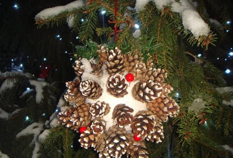 Joulukuusi lelut joulukuusi omalla kädellään: mitä voidaan tehdä uudenvuoden Elochnaya Igrushka Svoimi Rukami 58