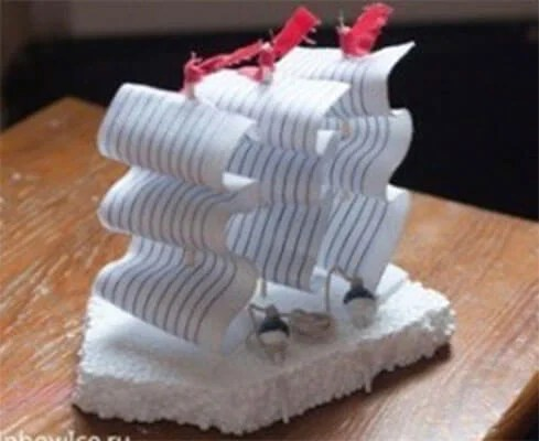 Кораблик для детей: различные способы создания со схемами и описанием korabl svoimi rukami 111