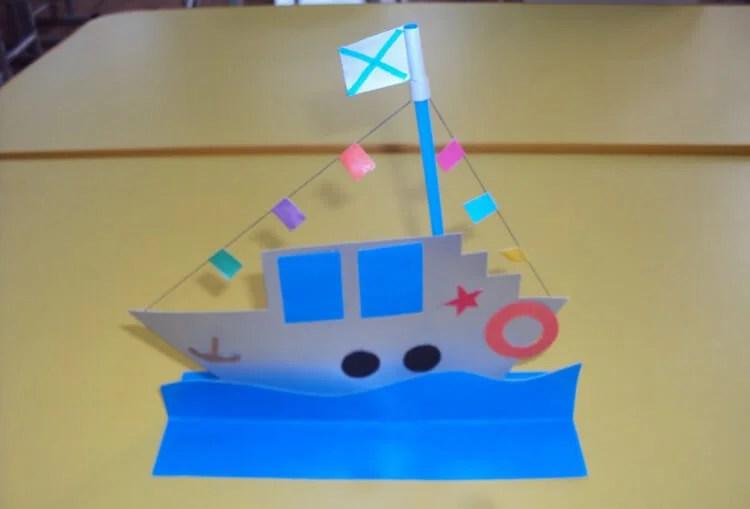 船舶为儿童:使用方案创建的各种方式和描述Korabl Svoimi Rukami 28
