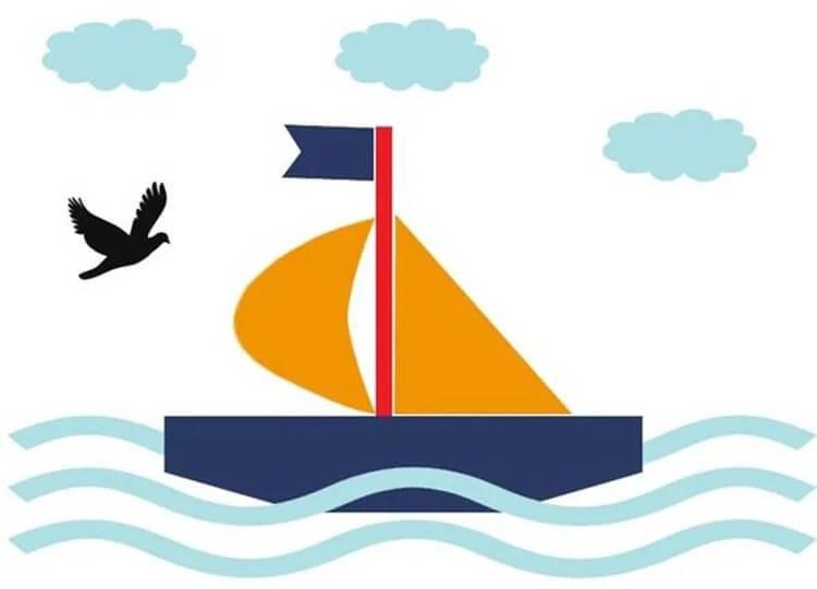 船舶为儿童:使用方案创建的各种方式和描述Korabl Svoimi Rukami 31