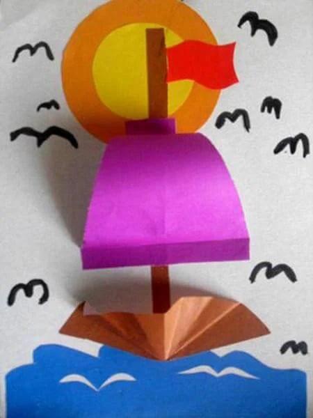 Кораблик для детей: различные способы создания со схемами и описанием korabl svoimi rukami 39