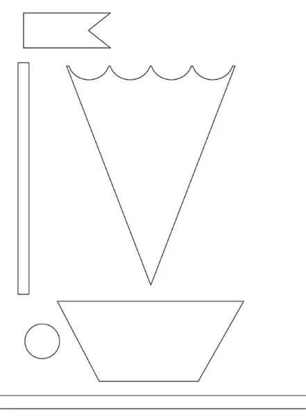 儿童船:使用方案创建的各种方式和描述Korabl Svoimi Rukami 44