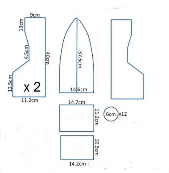 船舶为儿童:使用方案创建的各种方式和描述Korabl Svoimi Rukami 65